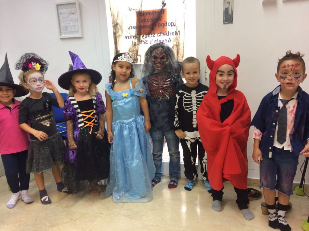 Clases de inglés en Halloween