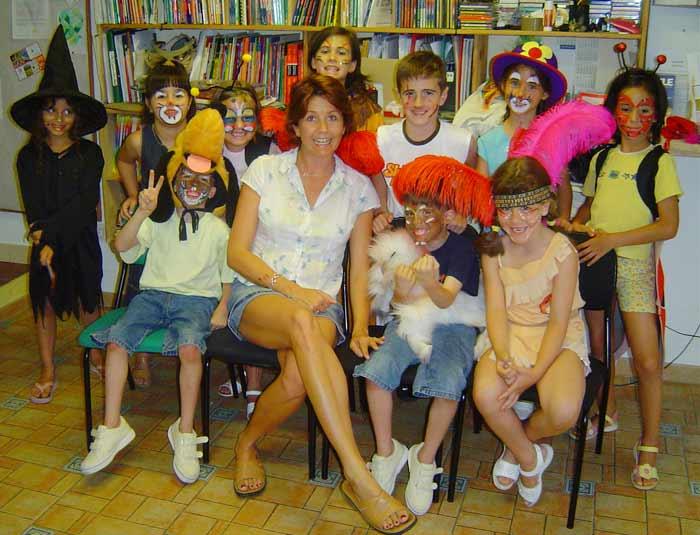 Alumnos de Marbella Study Centre en Halloween