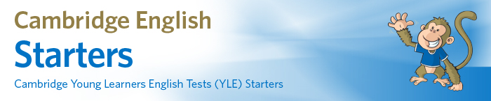 Logo for Cambridge English Starters