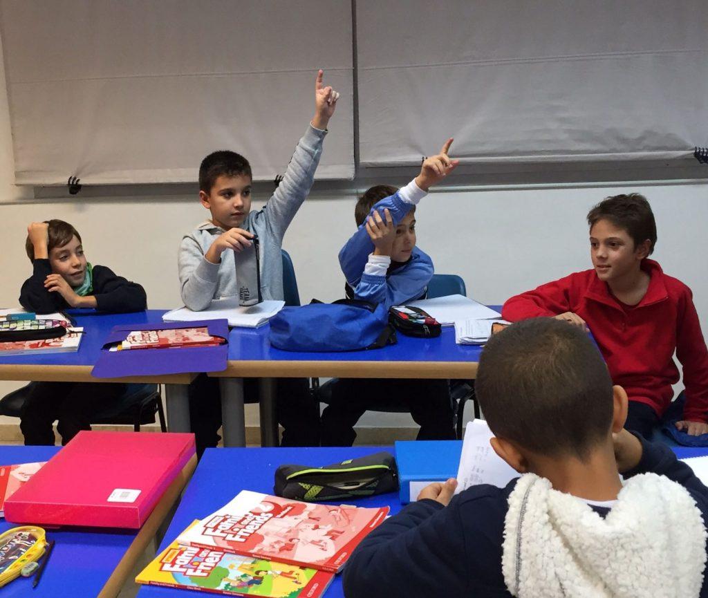 Un ambiente de respeto mutuo en todas las clases de ingles en el Marbella Study Centre