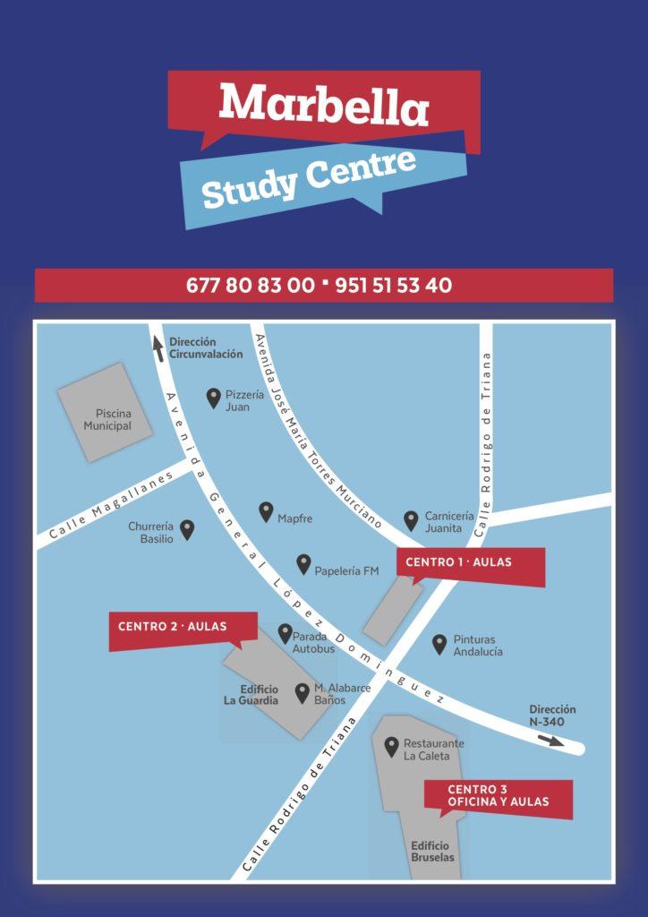 Las Aulas y la Oficina de Marbella Study Centre